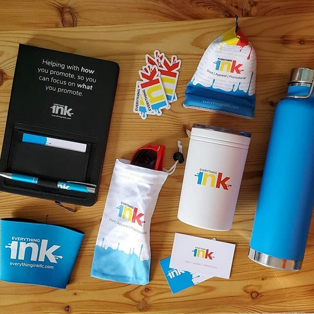 Our Work - branded items by Everything Ink