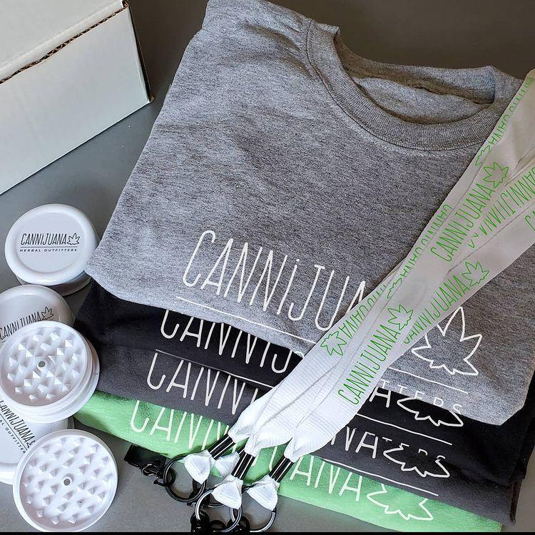 Custom Printed Cannabis Apparel | Everything Ink
